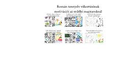 Román iskolavalasztas motivac 2013