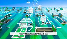 Snowy Mountains Hydro scheme