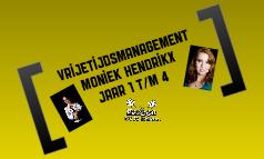 Eindexamen Moniek Hendrikx