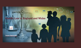 Family Law in England and Wales