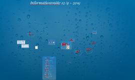 Informationsmöte 21/9 - 2017