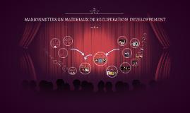 Copy of MARIONNETTES EN MATERIAUX DE RECUPERATION