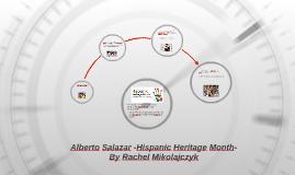 Alberto Salazar, Hispanic Heritage Month By Rachel Mikolajcz