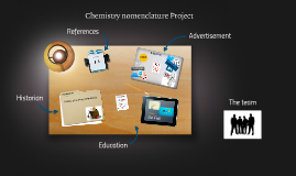 Chemistry nomenclature Project