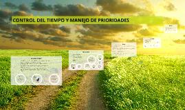 Copy of CONTROL DEL TIEMPO Y MANEJO DE PRIORIDADES