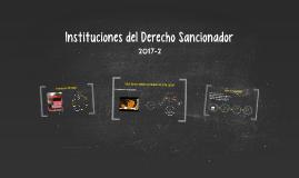 Instituciones del Derecho Sancionador