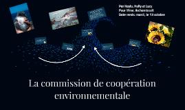 COMMISSION DE COOPÉRATION ENVIRONNEMENTALE