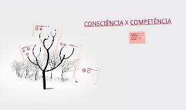 CONSCIÊNCIA X COMPETÊNCIA