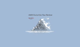 ASCC End of the Year Review