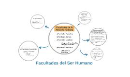 Facultades del Ser Humano