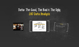 Data: The Good, The Bad & The Ugly