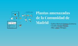 Plantas amenazadas de la Comunidad de Madrid