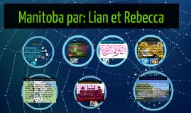 Manitoba par: Lian et Rebecca
