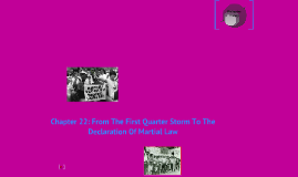 Chapter 22: From the First Quarter Storm to the Declaration of Martial Law (1970-1972)