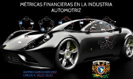 METRICAS FINANCIERAS EN LA INDUSTRIA AUTOMOTRIZ