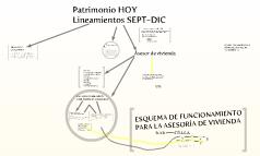 Patrimonio HOY Lineamientos SEPT-DIC