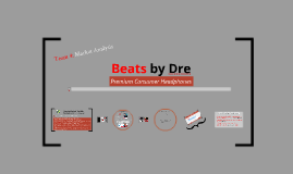 Copy of Beats by Dre Market Analysis