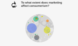 To what extent does marketing affect consumerism?
