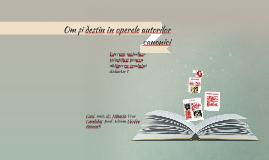 Om și destin în operele autorilor canonici