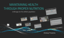 Maintaining Health Through Proper Nutrition