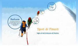 Tipos de Planes