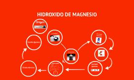 HIDROXIDO DE MAGNESIO