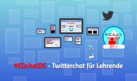 #EDchatDE - Twitterchat für Lehrende