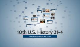 10th U.S. History 21-4