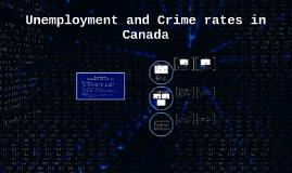 Unemployment Rate vs. Crime Rate