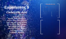 Experiment 9