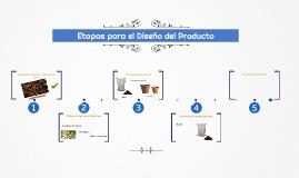 Etapas para el Diseño del Producto