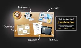 Copy of Desktop Prezumé by Maria Joao