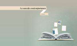 La novela contemporanea
