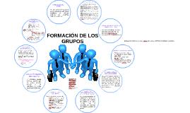 GENERALIDADES Y FORMACIÓN DE LOS GRUPOS