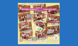 Chema - REUNIÓN PADRES 6º 2017                                        Curs 2016-2017