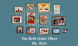 Birth Order Demo Lesson