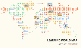 LEARNING WORLD MAP