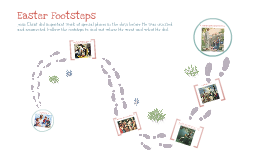 Easter Footsteps