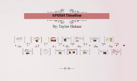 APUSH Timeline