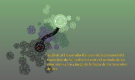 Copy of Análisis al Desarrollo Humano de la juventud del  municipio