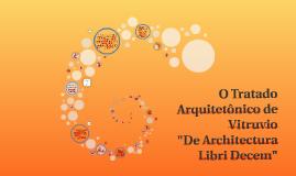 Copy of O Tratado Arquitetônico de Vitruvio