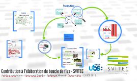 Contribution à l'élaboration de boucle de flux - SVITEC