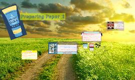 Paper 2 Preparations