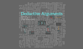 Deductive Arguments
