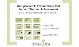 FE Partnerships that Impact Studen Achievement