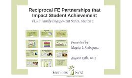 FE Partnerships that Impact Studen Achievement
