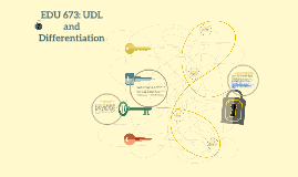 Copy of EDU 673: UDL and Differentiation