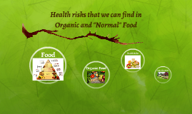 """Health risk that you can find in Organic and """"Normal"""" Food"""