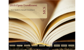 2016 Morgan Open Enrollment