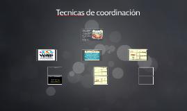 Copy of Lección 23 Tecnicas de coordinación